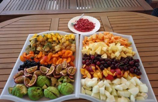 Ochutnávka ovoce v SeniorCentru Modřice