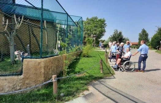 Výlet do zoologické zahrady ve Vyškově