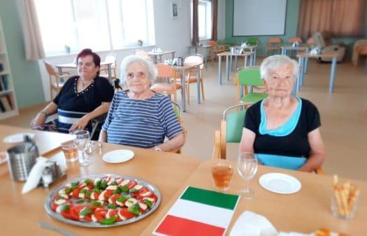 Italský týden v SeniorCentru Modřice