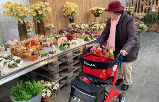 Návštěva zahradnictví s klienty SeniorCentra Modřice